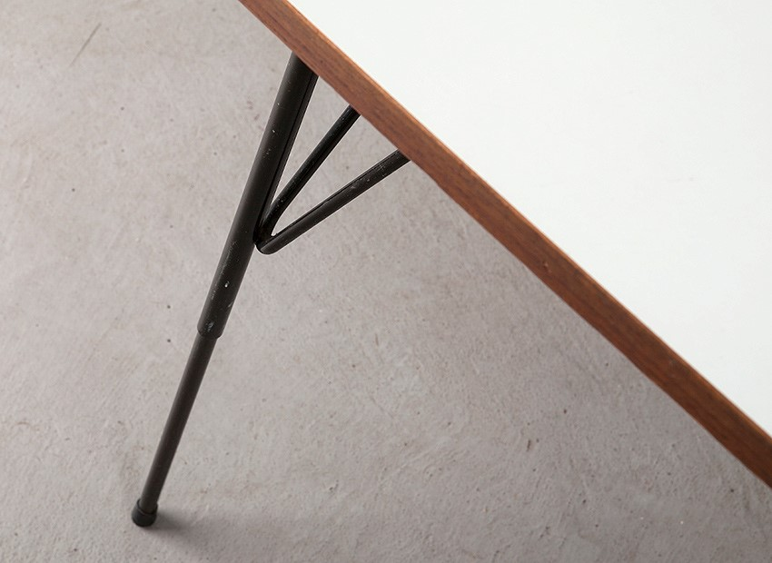 Rudolf Wolf Small Dining Table Elsrijk 50s 8