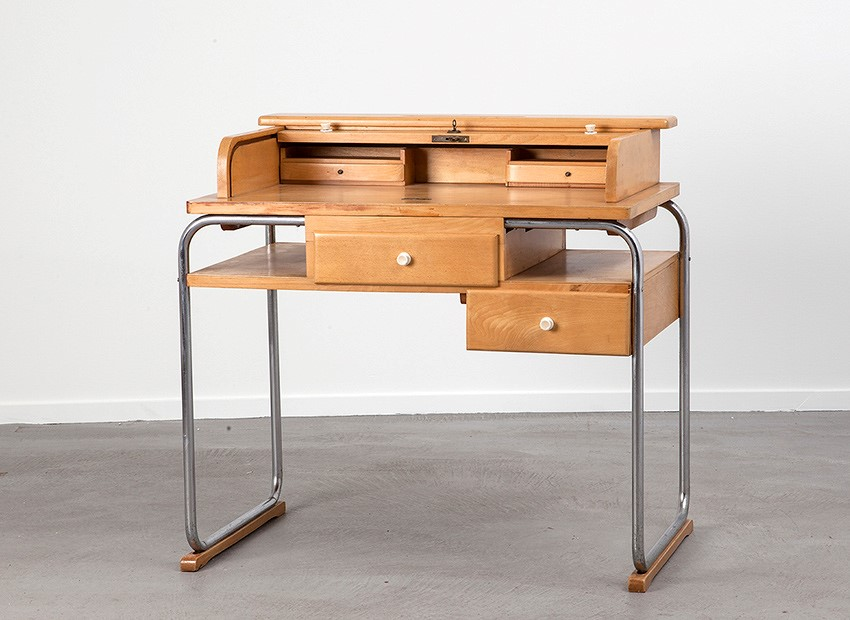 SOLD Torck Tubular Kids Desk Belgium 1950s