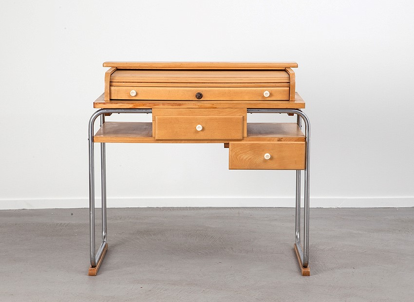 Torck Tubular Kids Desk Belgium 50s 2