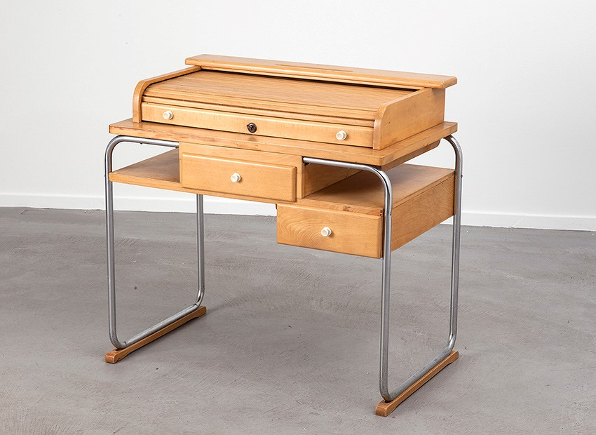 Torck Tubular Kids Desk Belgium 50s 6