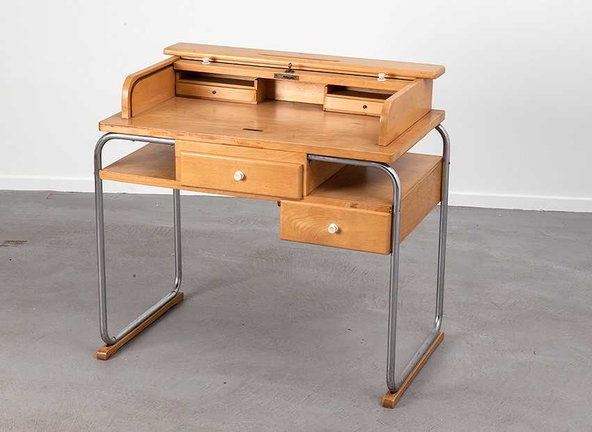 Torck Tubular Kids Desk Belgium 50s 8