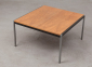 Coen De Vries Squared Teak Coffee Table Gispen 60s 4