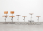 Friso Kramer Working Chairs Stools De Cirkel 60s 1