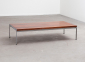 Kho Liang Ie Rosewood Chrome Coffee Table Artifort 60s 4