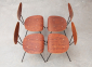 W.H.Gispen 4x Chairs Kembo 12