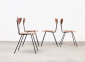 W.H.Gispen 4x Chairs Kembo 4